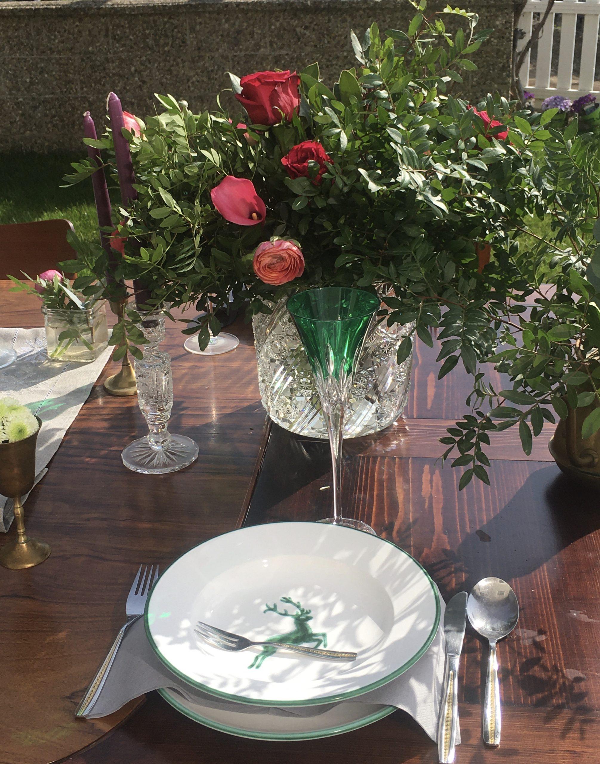 Zwei praktische Tisch-Deko Styles für eine gelungene Gartenparty